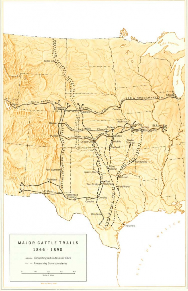 The Goodnight-Loving Trail – Legends Of America - Texas Forts Trail Map