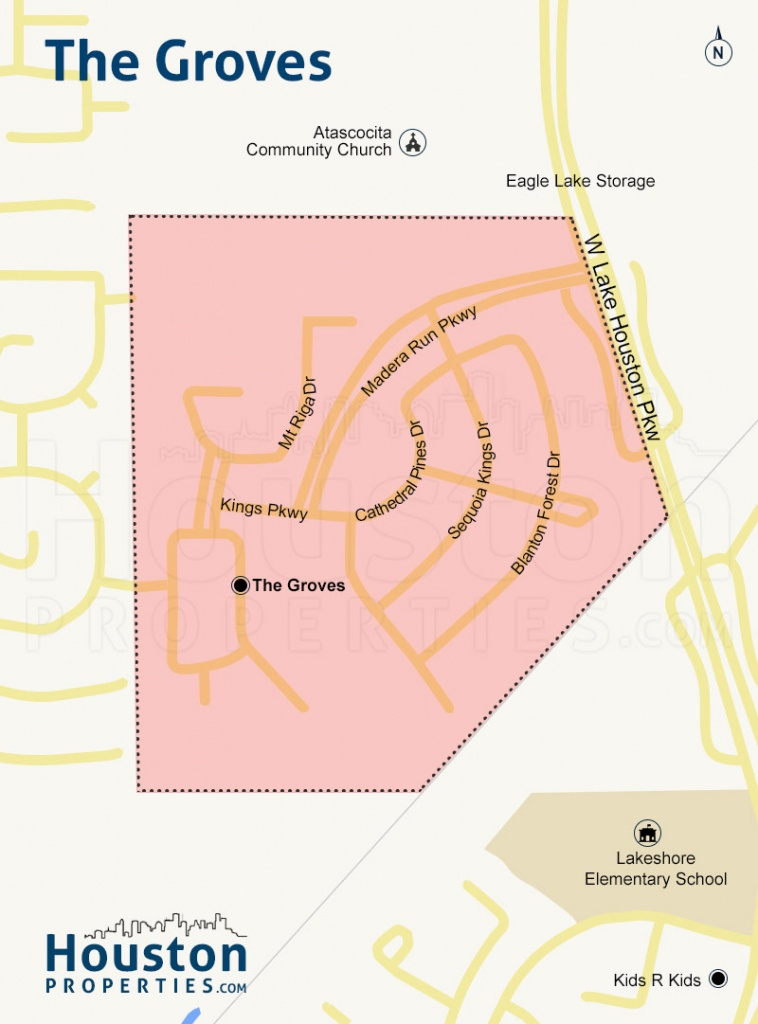 The Groves Humble Tx Guide   The Groves Homes For Sale - Groves Texas Map