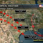 The Gulf Storm And West Texas Weather - West Texas Weather Map
