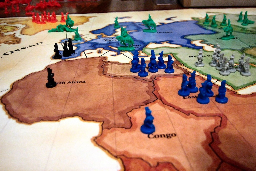 The History Of Risk Board Game - Risk Board Game Printable Map