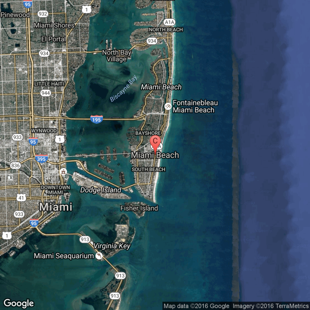 The History Of The Eden Roc Hotel In Miami, Florida   Usa Today - Map Of Miami Beach Florida Hotels