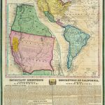 The Info On The Map Is Interesting Also       California Gold Rush   California Gold Mines Map