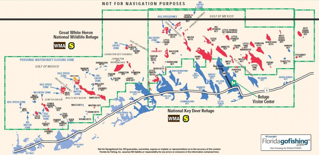 The Keys Upper Monroe County Gps Coordinates Reefs Shipwrecks - Key - Florida Reef Maps App