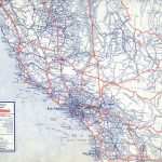 The Lost U.s. Highways Of Southern California History | Kcet   California Interstate Highway Map