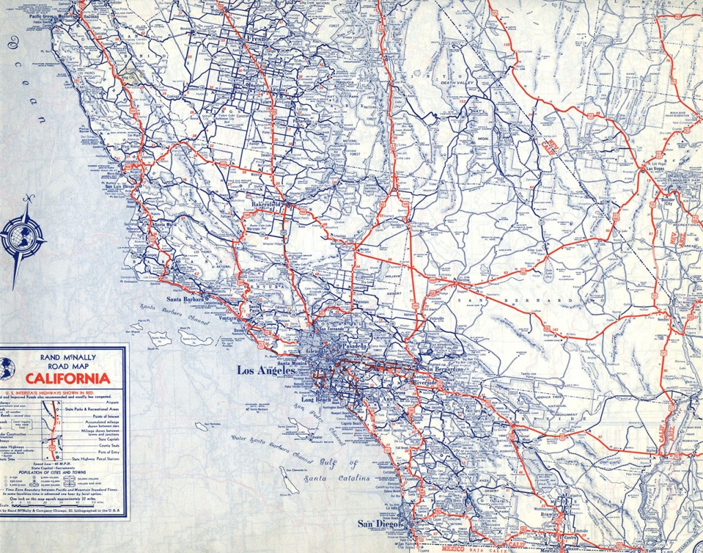 The Lost U.s. Highways Of Southern California History | Kcet - California Interstate Highway Map