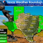 The Monsoon Is Bringing Welcome Rains To Far West Texas And Parts Of - West Texas Weather Map