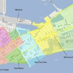 The Neighborhoods Of Key West | Historic Key West Vacation Rentals - Map Of Duval Street Key West Florida