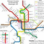 The New Circulators And The Metro Map – Greater Greater Washington – Printable Metro Map Of Washington Dc