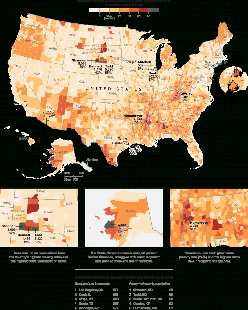 The New Face Of Hunger - National Geographic - Food Desert Map California
