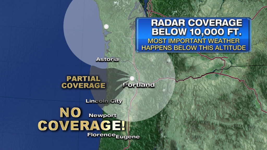 The Oregon Radar Gap | Fox 12 Weather Blog - Doppler Map California