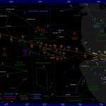 The Position Of Mars In The Night Sky: 2017 To 2019   Florida Night Sky Map
