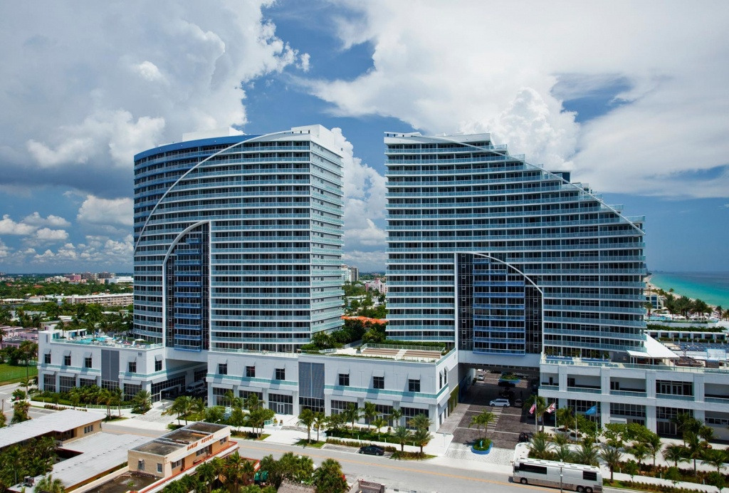 The Residences At W Fort Lauderdale - W Residences - Map Of Hotels In Fort Lauderdale Florida