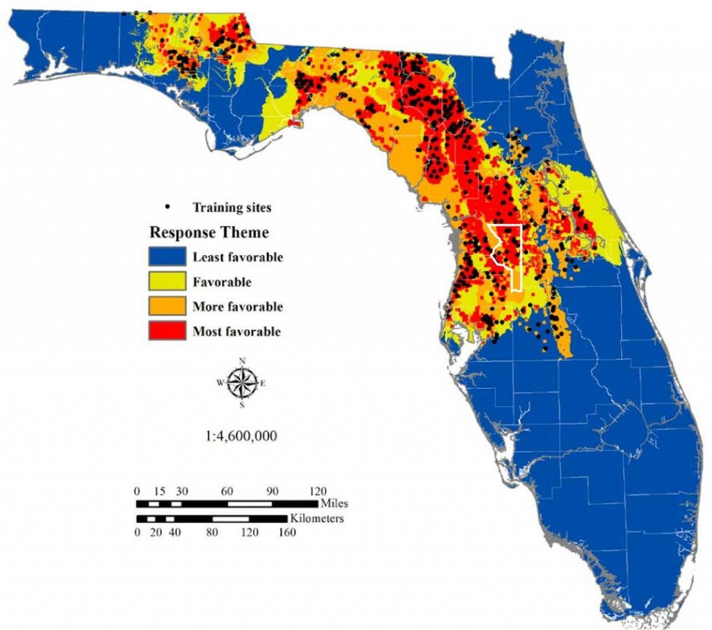 The Science Behind Florida's Sinkhole Epidemic | Science | Smithsonian - Coral Bay Florida Map