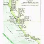 The Shipwrecks And Strandings Off The Coast Of California In The   California Shipwreck Map