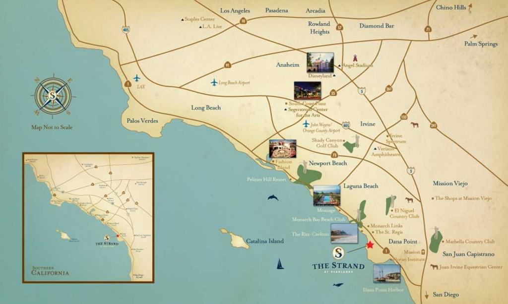 The Strand At Headlands | Dana Point, Ca - Dana Point California Map