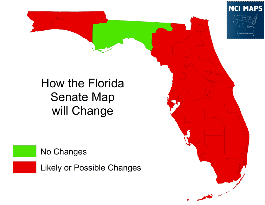 The Ultimate Guide To The Six State Senate Base Maps - Saintpetersblog - Florida House District 15 Map