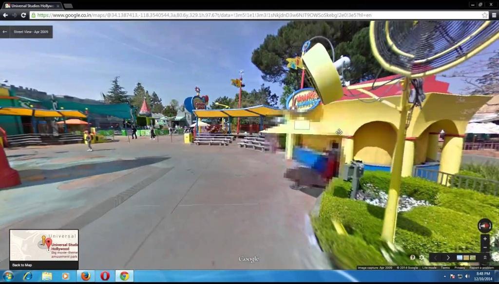 The Universals Studio Of Los Angeles California From Google Map - Google Maps Los Angeles California