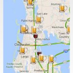 Thecompass Winery Brewery Distillery Locator App's View Of The Fred   Pinellas Trail Map Florida