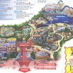 Theme Park Brochures Disney's California Adventure - Theme Park - California Adventure Map