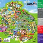 Theme Park Brochures Legoland California Resort   Theme Park Brochures   Legoland California Map