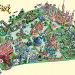 Theme Park Brochures Maps   Theme Park Brochures | Mangroves | Theme   Southern California Amusement Parks Map