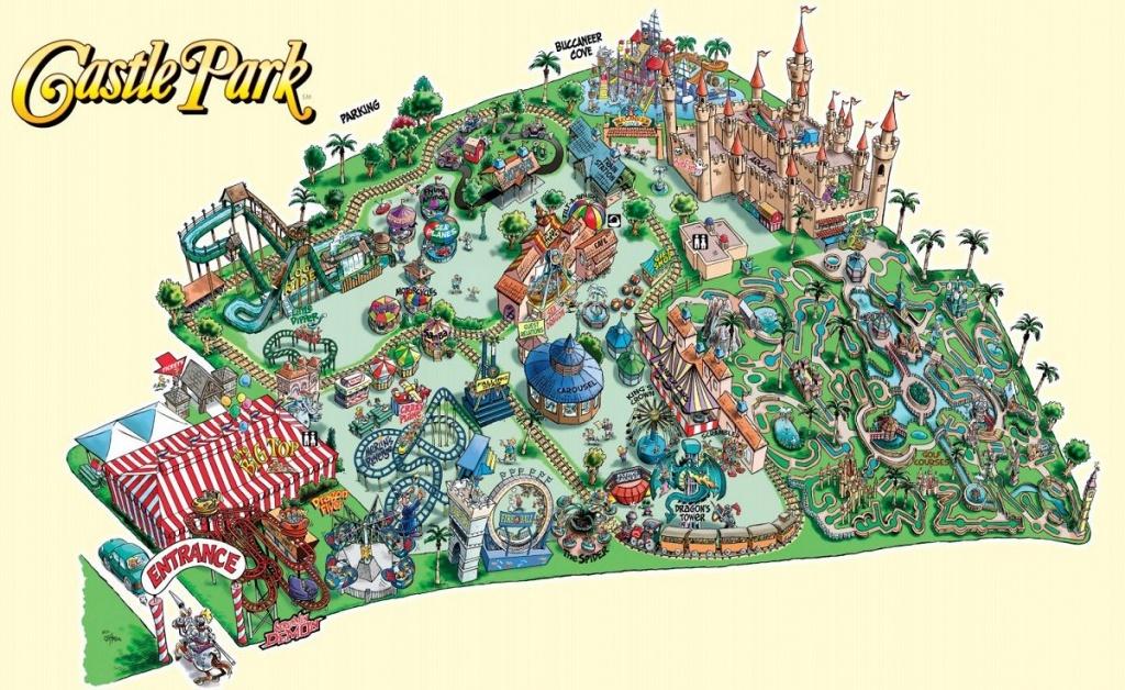 Theme Park Brochures Maps - Theme Park Brochures | Mangroves | Theme - Southern California Amusement Parks Map