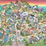 Theme Park Brochures Sea World San Diego   Theme Park Brochures   Printable Sea World San Diego Map