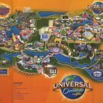 Theme Park Brochures Universal Orlando Resort   Theme Park Brochures   Universal Studios Florida Resort Map