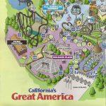 Theme Park Review • California Great America (Cga) Discussion Thread   California's Great America Map