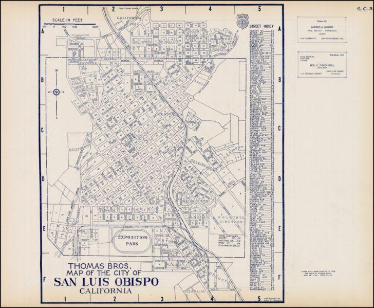 Thomas Bros Maps California