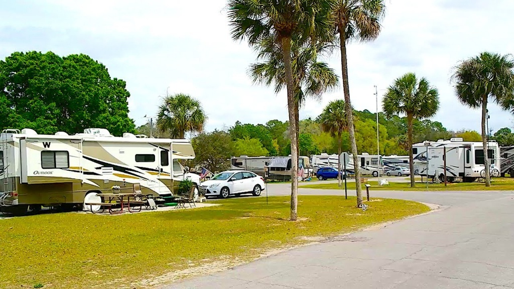 Thousand Trails Orlando Rv Resort Review - Youtube - Thousand Trails Florida Map