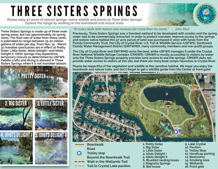Natural Springs Florida Map