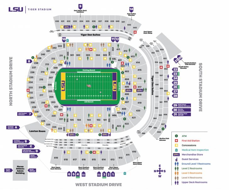 University Of Florida Football Stadium Map
