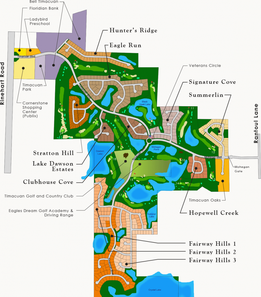 Timacuan Community Information | Lake Mary, Florida - Map Of Lake Mary Florida And Surrounding Areas