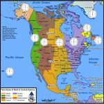 Time Zones Of North America | Mapsgeo Earth Mapping | Time Zone - Printable Time Zone Map For Kids
