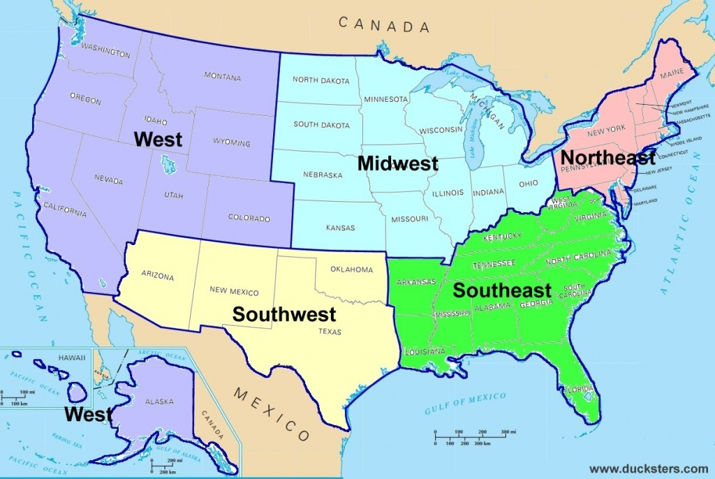 Tips For Posting - Gordon-Conwell Theological Seminary - Map Of The United States By Regions Printable