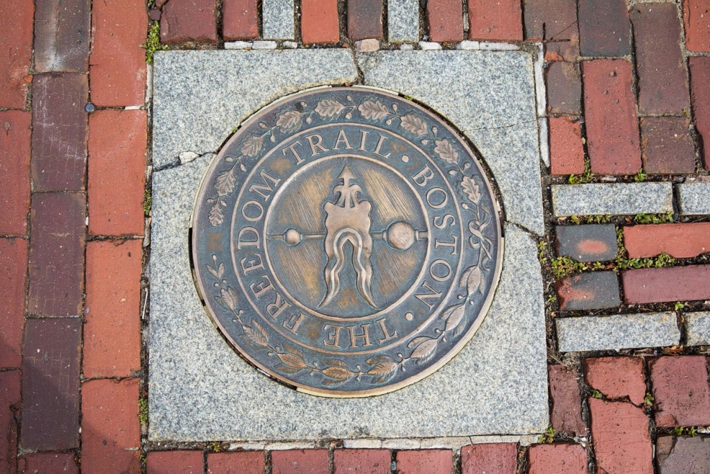 Tips For Walking The Freedom Trail In Boston | Earth Trekkers - Freedom Trail Map Printable