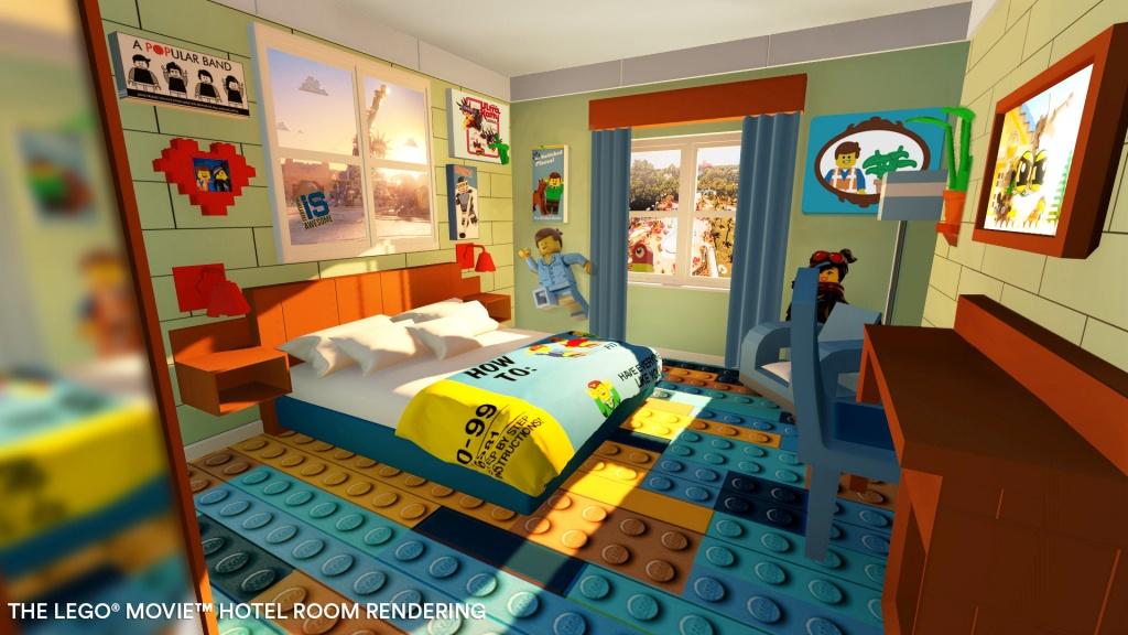 Tlm Rooms - Legoland Florida Hotel Map