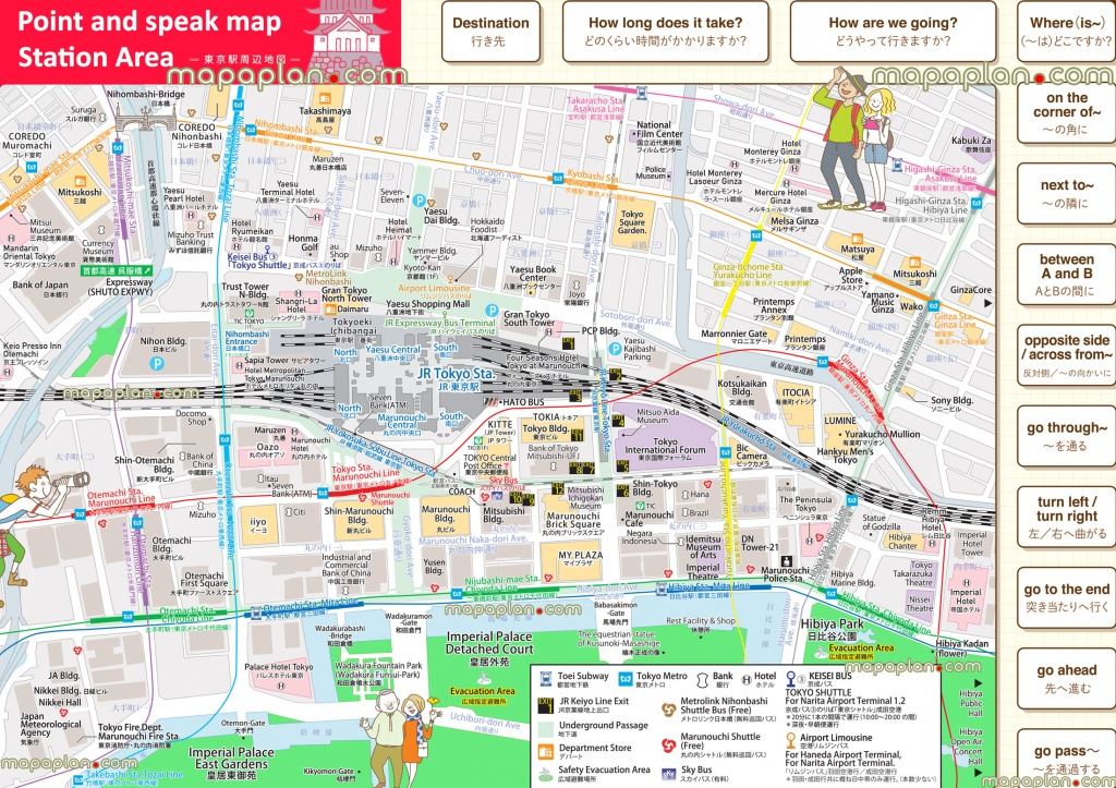 Tokyo Maps - Top Tourist Attractions - Free, Printable City Street - Printable Map Of Tokyo