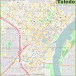 Toledo Downtown Map   Printable Map Of Toledo Ohio
