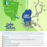 Tool Kit   Lake Tahoe Visitors Authority   South Lake Tahoe California Map
