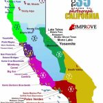Top 35 Places To Shoot In California – Improve Photography - California Coast Attractions Map