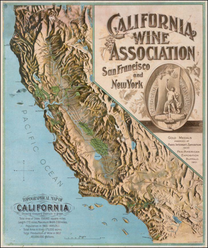 Baja California Topographic Maps