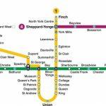 Toronto Subway Map 2019 | Toronto Info   Toronto Subway Map Printable