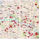 Tourist Map Of Paris France - Lgq - Printable Map Of Paris France