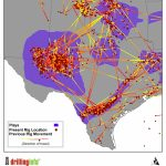 Tracking The Drilling Rig Feeding Frenzy   Map Of Drilling Rigs In Texas