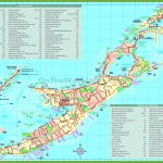 Travel Map Of Bermuda With Attractions   Printable Map Of Bermuda