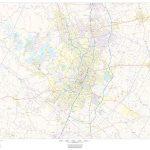 Travis County Texas Map   Travis County Texas Map