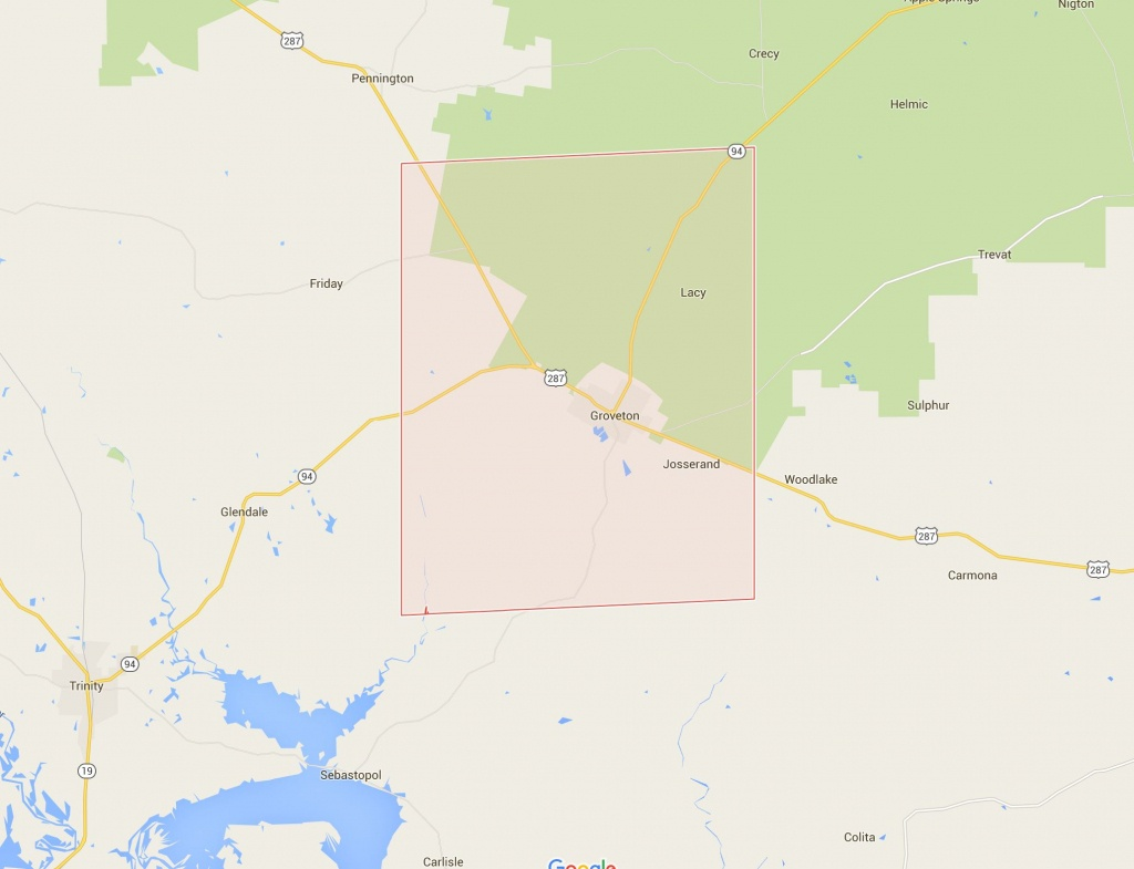 Trinity County Appraisal District   Bis Consulting   Simplifying It - Trinity County Texas Map