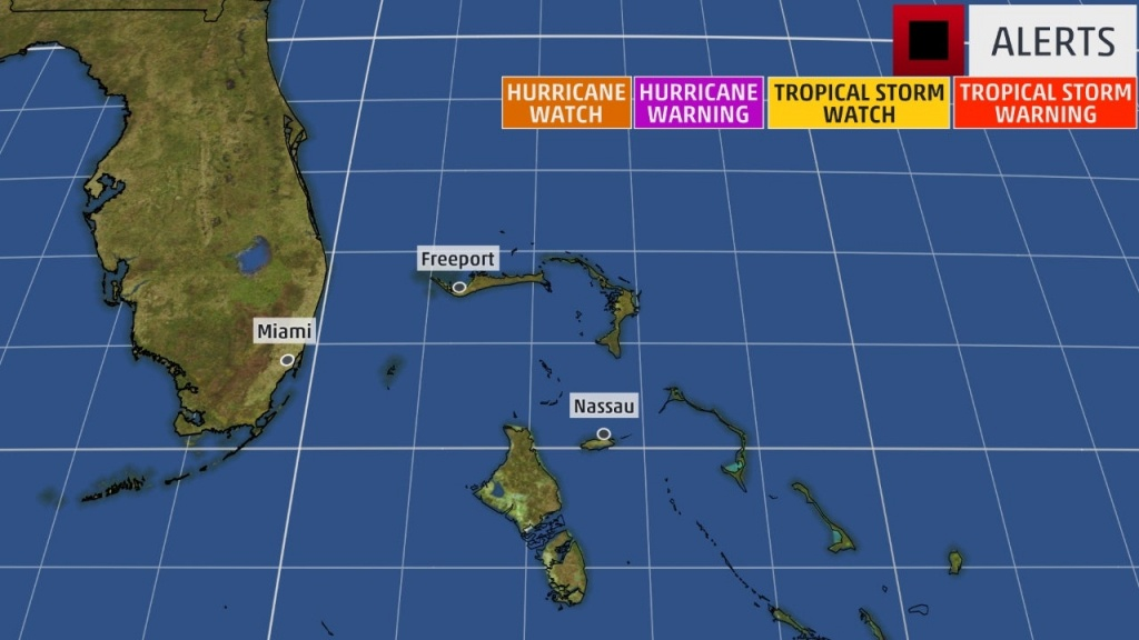 Tropical Storm Watches Issued For Parts Of Florida   The Weather Channel - Weather Channel Florida Map
